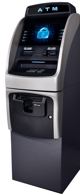 Secure ATM Machine