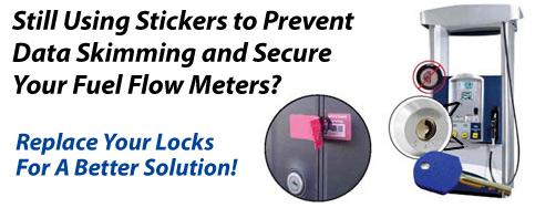 Still using stickers to prevent data skimming - Replace your locks with a better solution