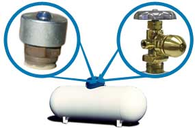 POLock and Filler Valve Locks for Tanks