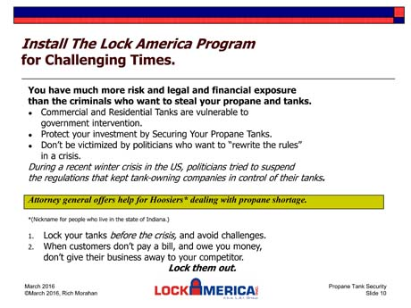 Propane Tank Locks - Lock America